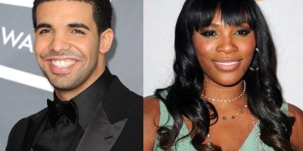 Get A Room! Rapper Drake Caught Slobbing Down Serena Williams in A Club