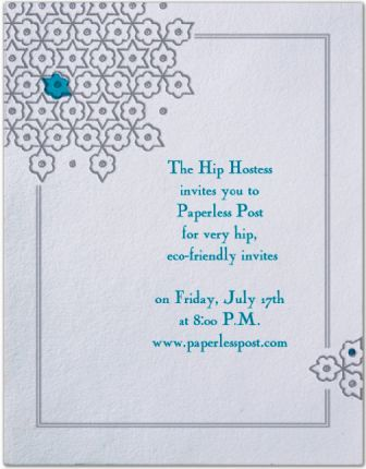 FinallyFancy Paperless (Email) Invitations - Stylish Spoon