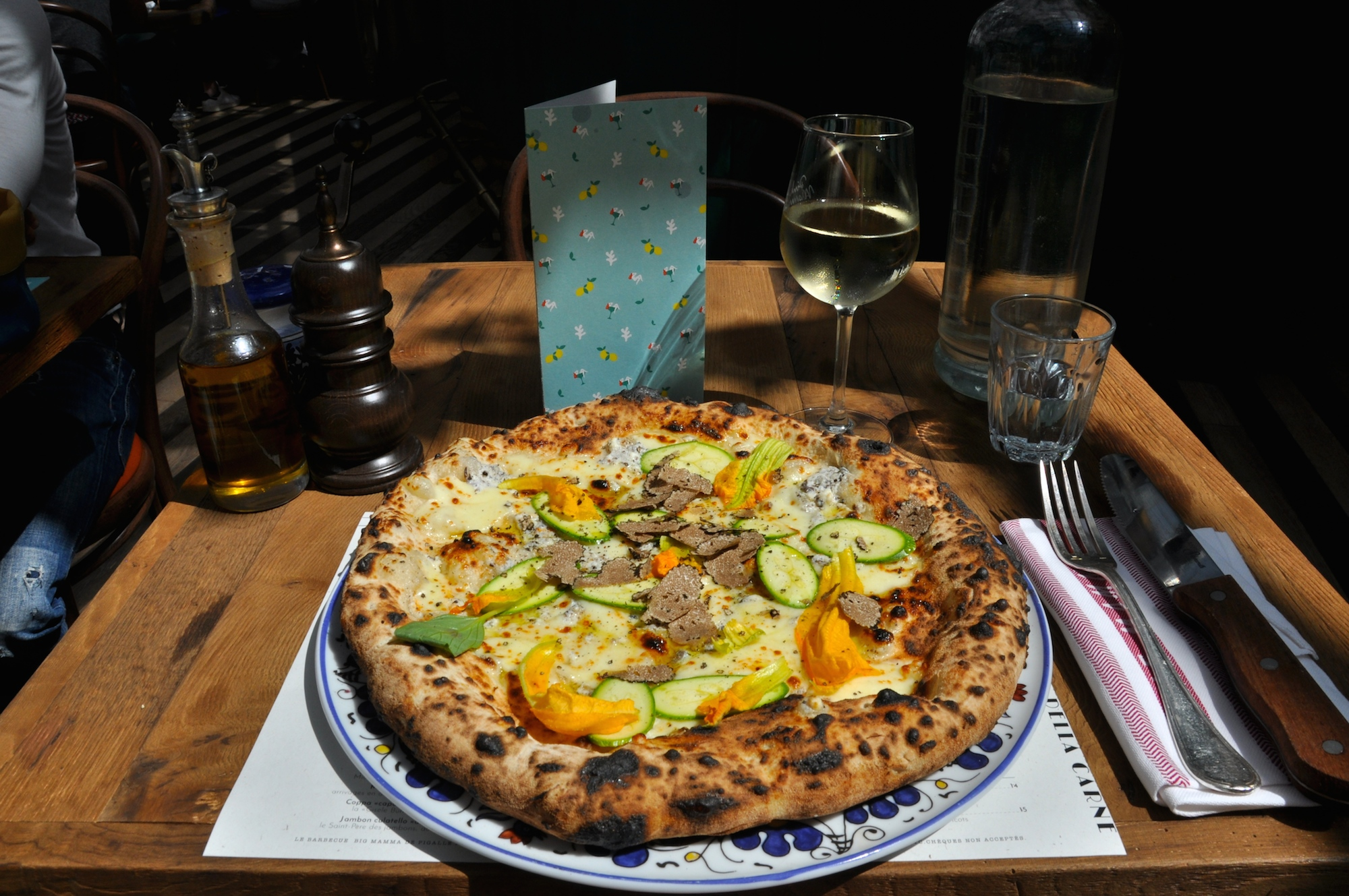 Pizza Paris 11 The Big Mamma Group Trendy Fresh Authentic Italian Dining In