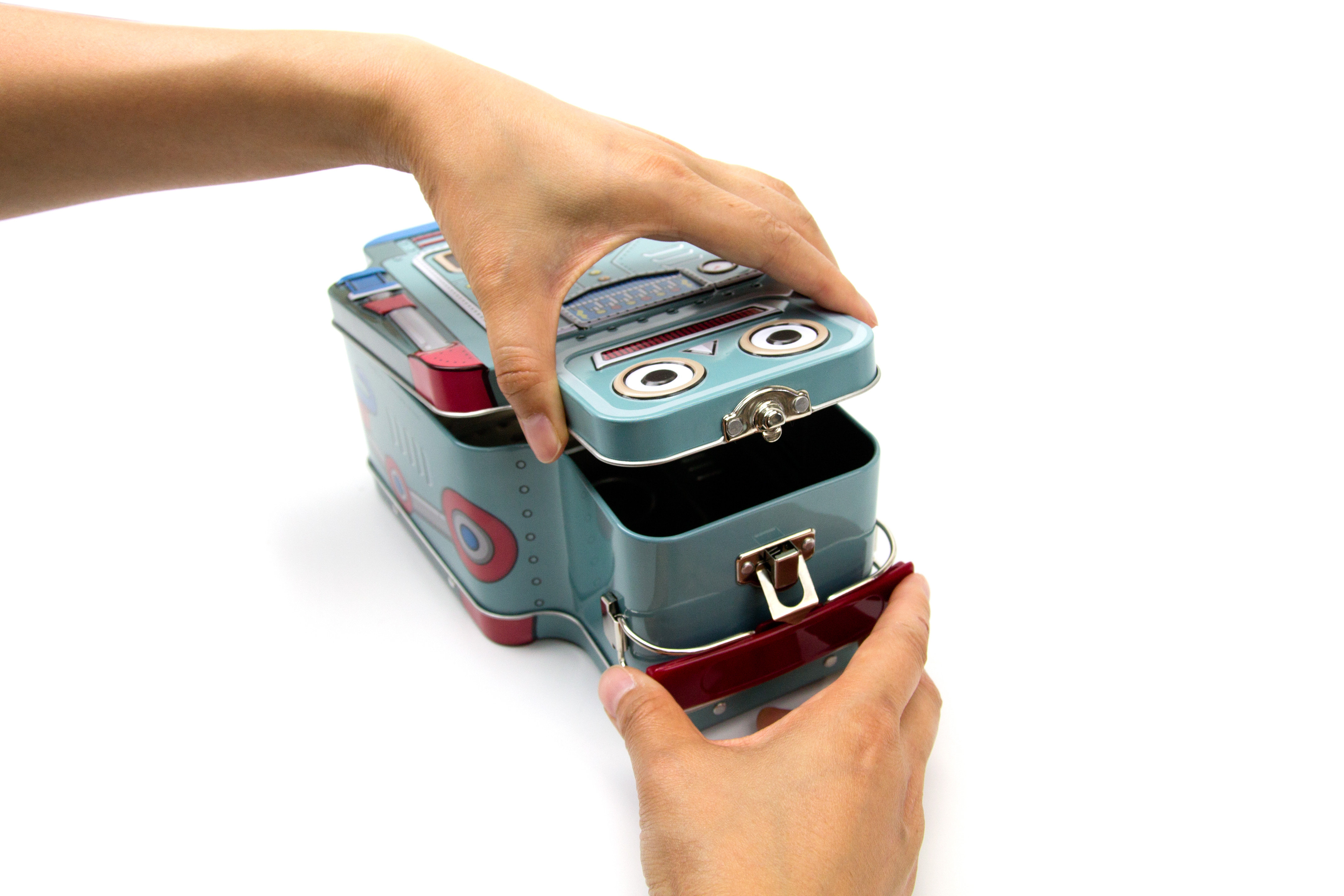 Brotbox Kinder Roboter Lunch Box Hippe Kinder