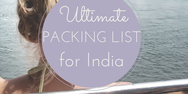 packing list India
