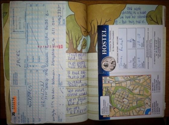travel journal tips