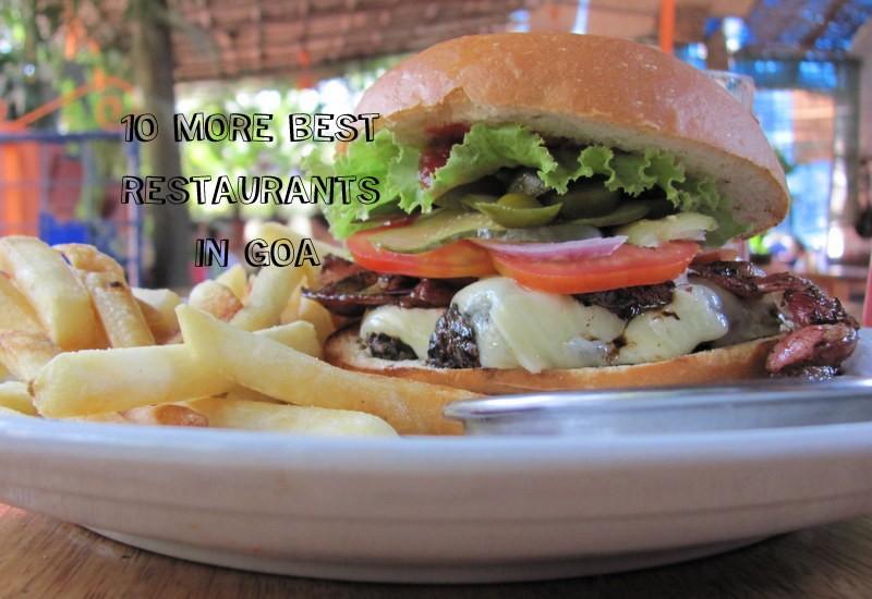 best restaurants goa