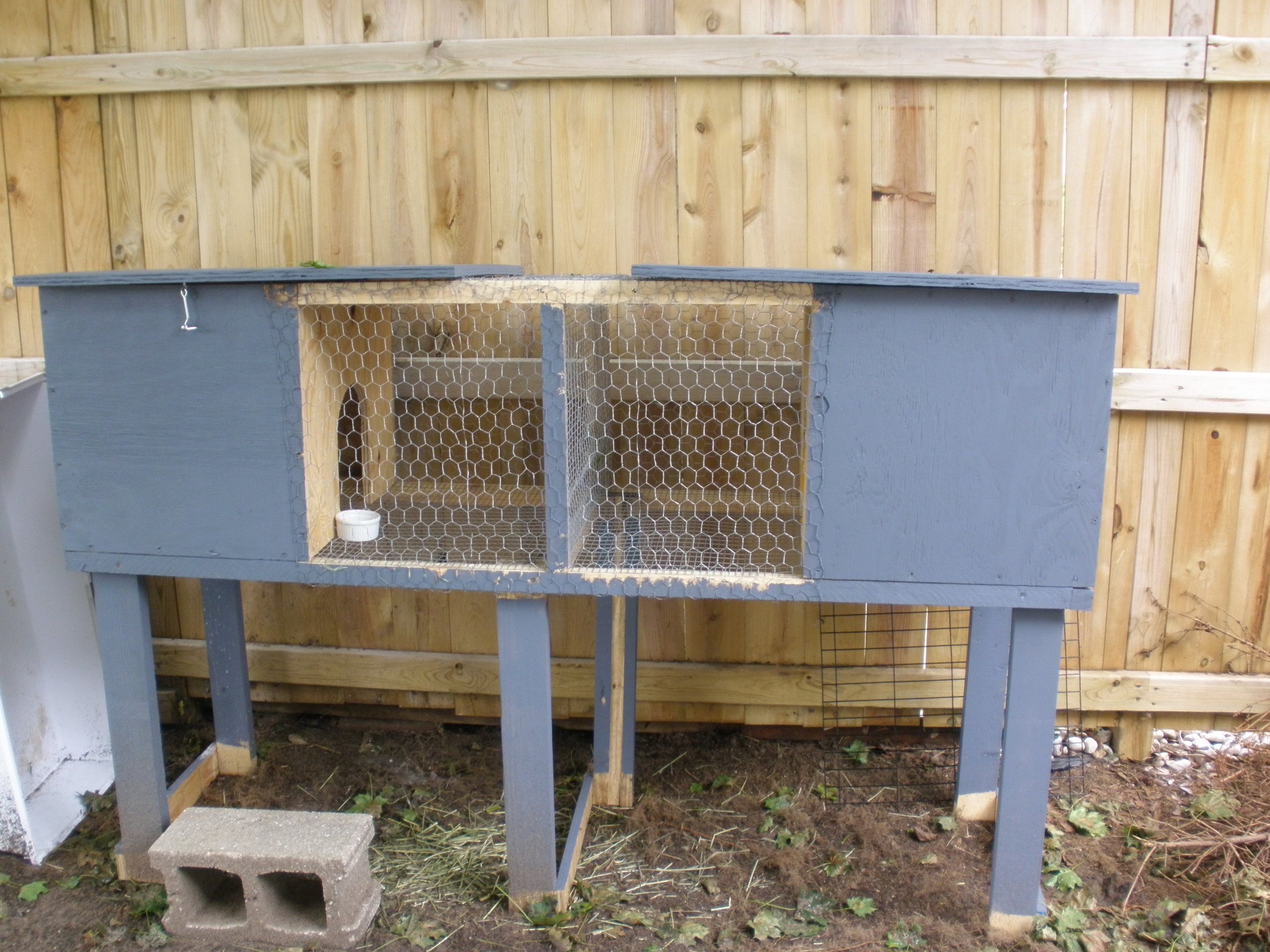 Diy Cage For Rabbit Building A Rabbit Hutch Notes From A Country Girl Living