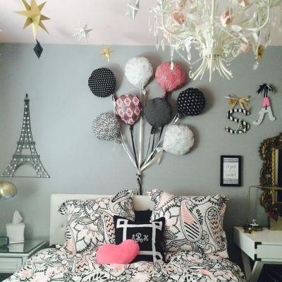 Pokój dziecięcy w różowej kolorystyce i odcieniach różowego