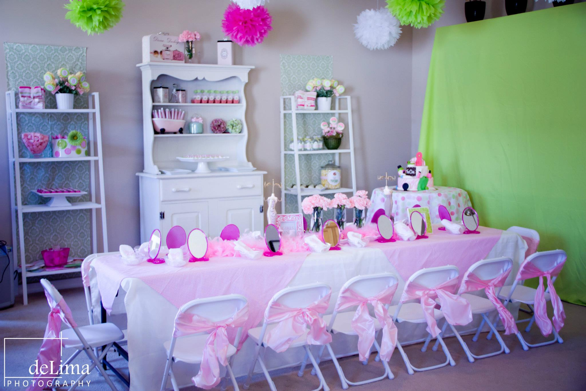 Spa Party Ideas For Girls Hippojoy39s Blog