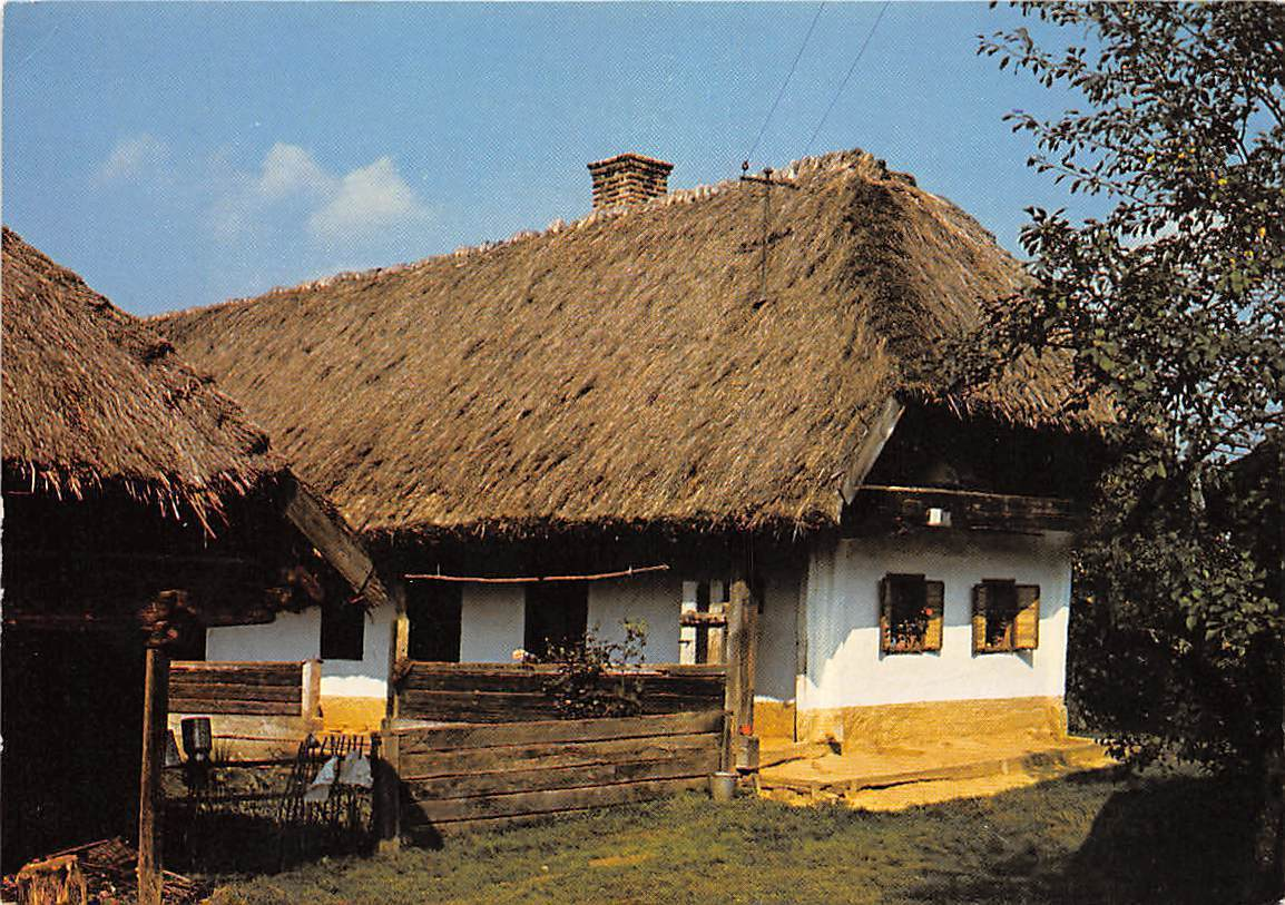 Cottage Haus Hungary Szalafo Pityerszer Typical Traditional House Haus Maison