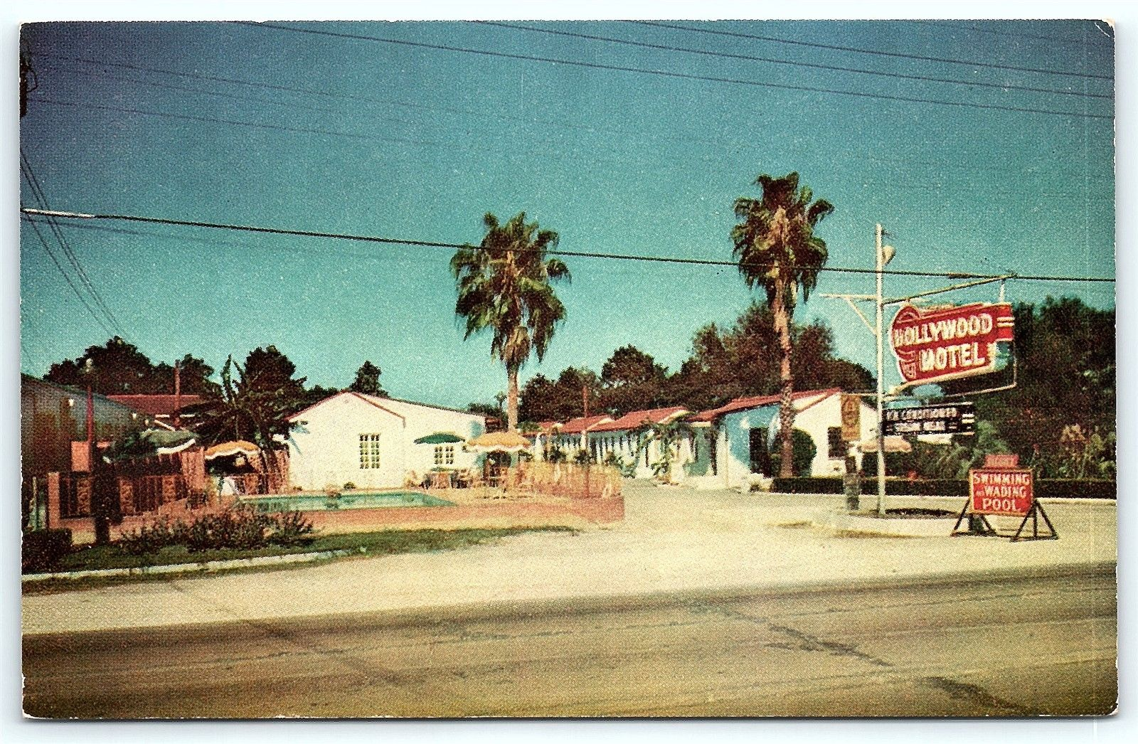 Hollywood Motel Postcard La Baton Rouge Hollywood Motel Chef Menteur Highway R24