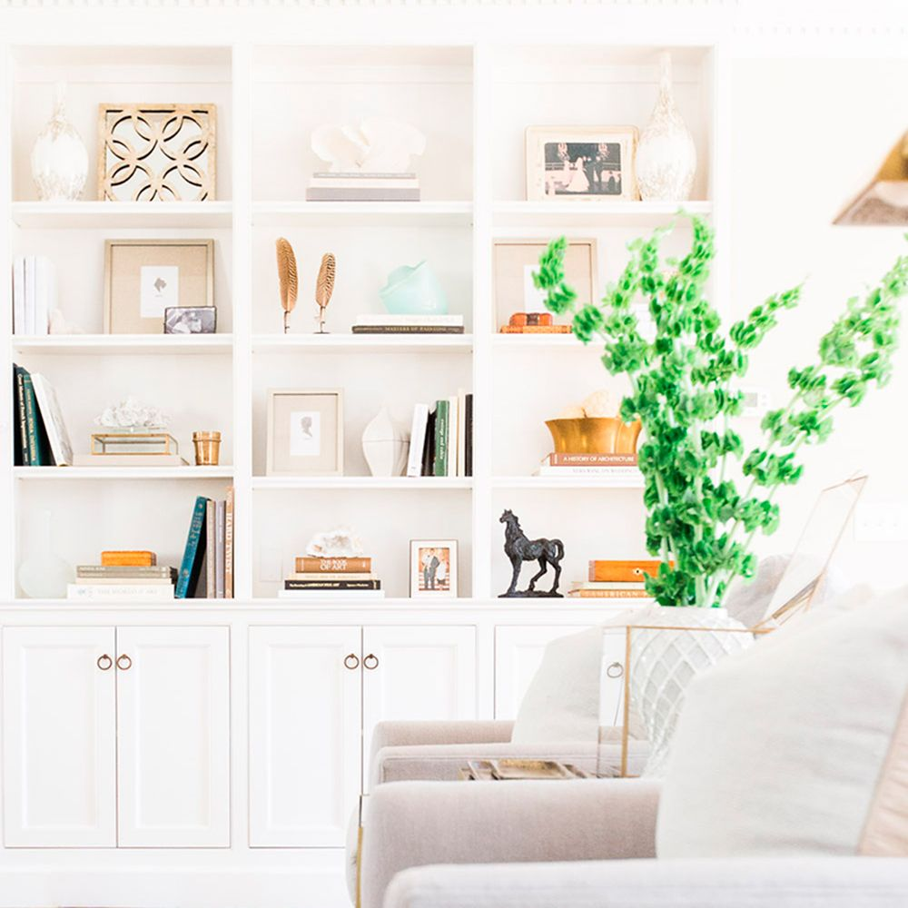 How To Style Your Shelves
