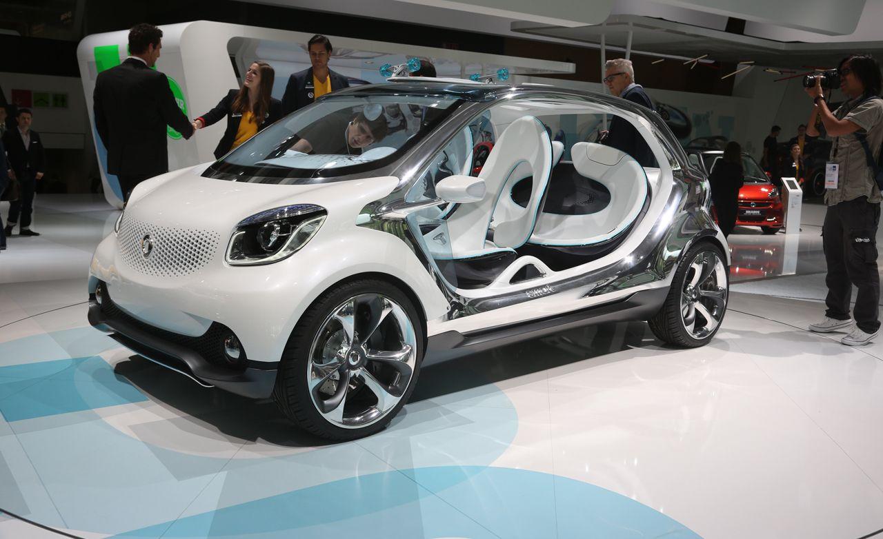 Smart Fourjoy Concept Photos and Info | News | Car and Driver