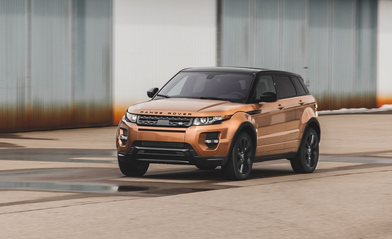 Black And Red Cars Wallpaper 2014 Land Rover Range Rover Evoque Test Review Car And