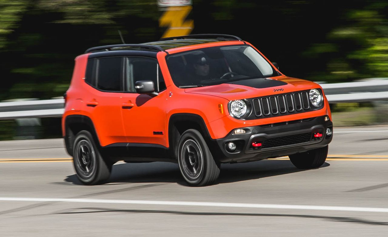 Acura Car Wallpaper 2015 Jeep Renegade Trailhawk Review Car And Driver