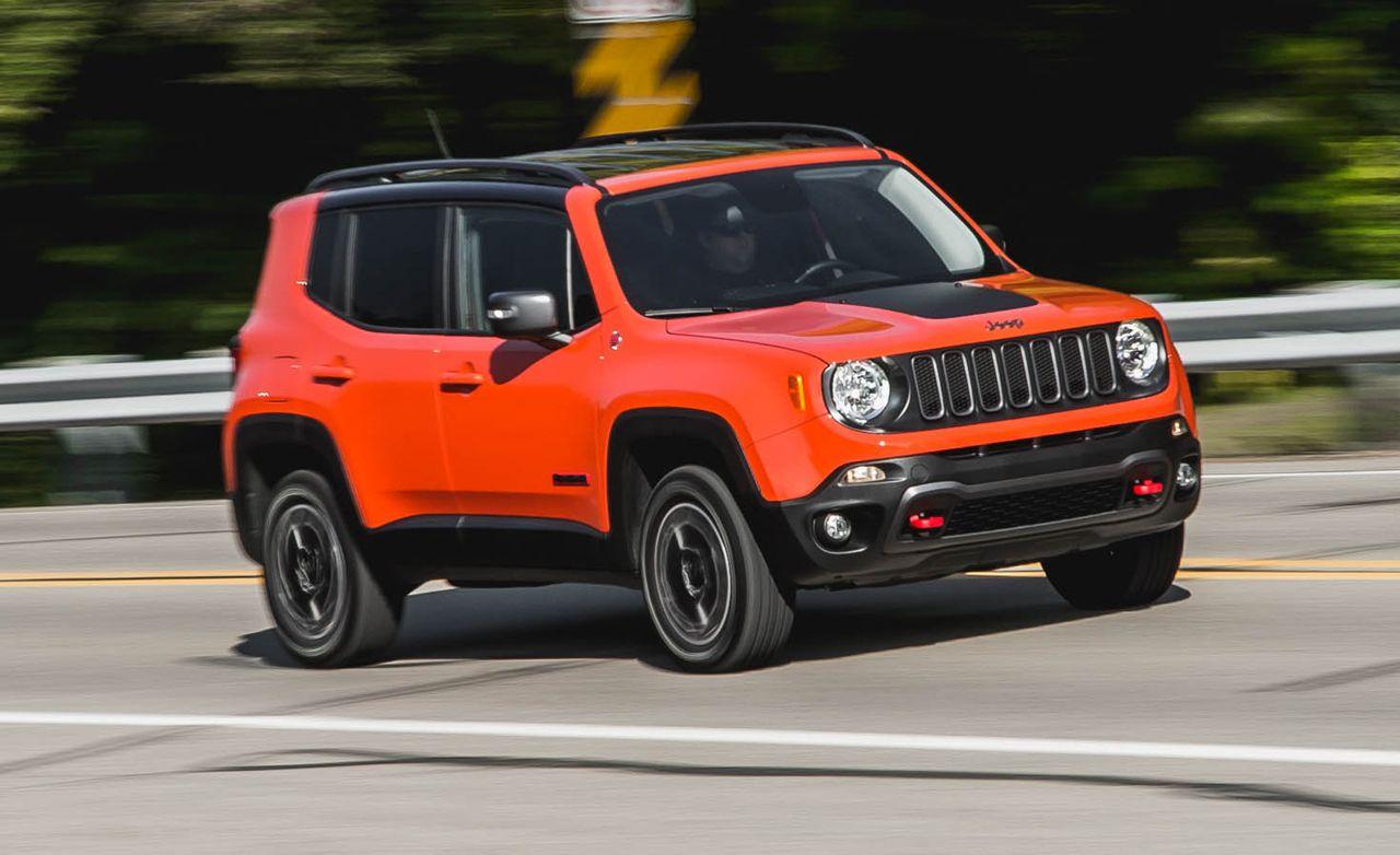 Red Lamborghini Car Wallpaper 2015 Jeep Renegade Trailhawk Review Car And Driver