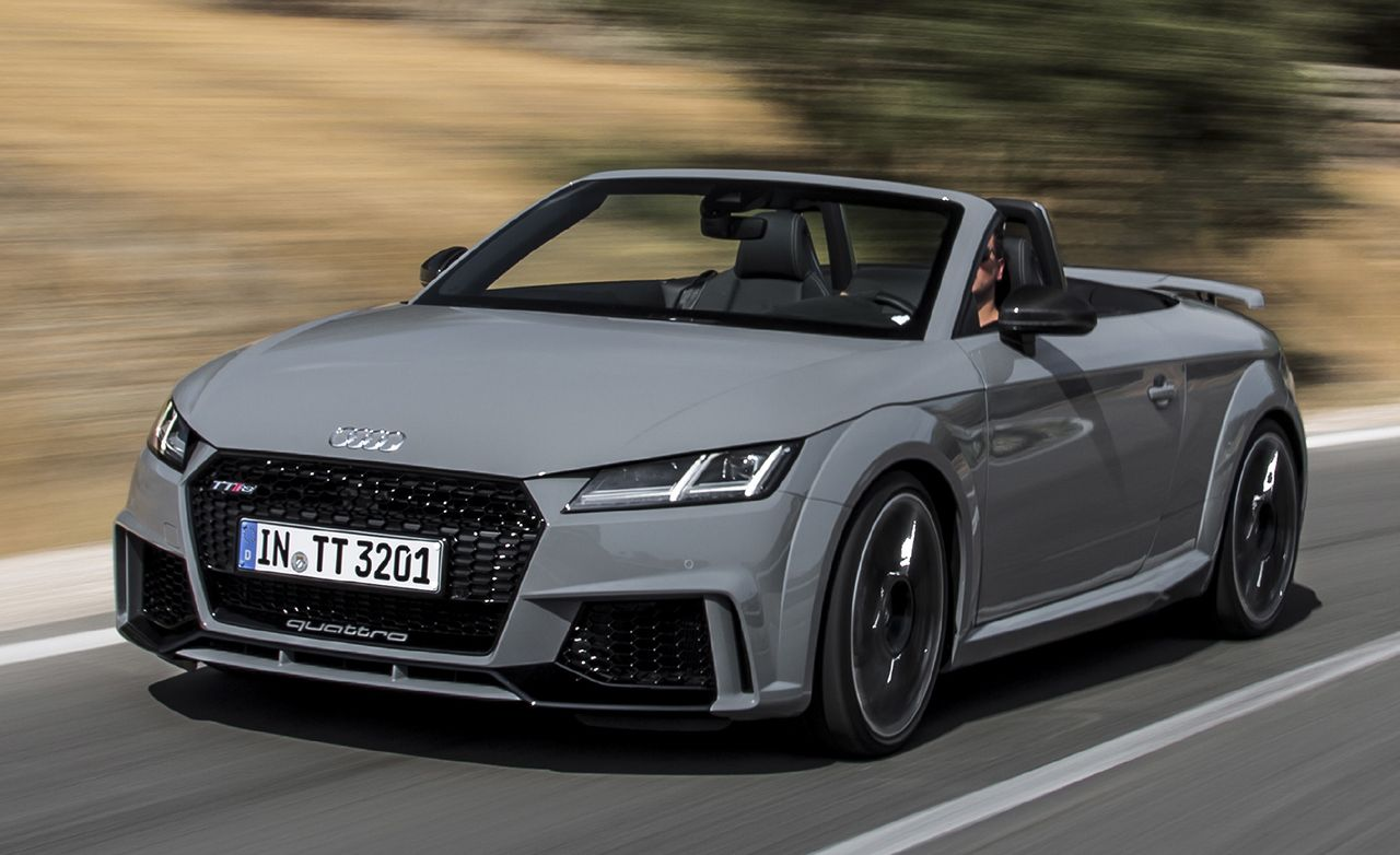 Quote Wallpaper Drive First Drive 2018 Audi Tt Rs Roadster Review Car And