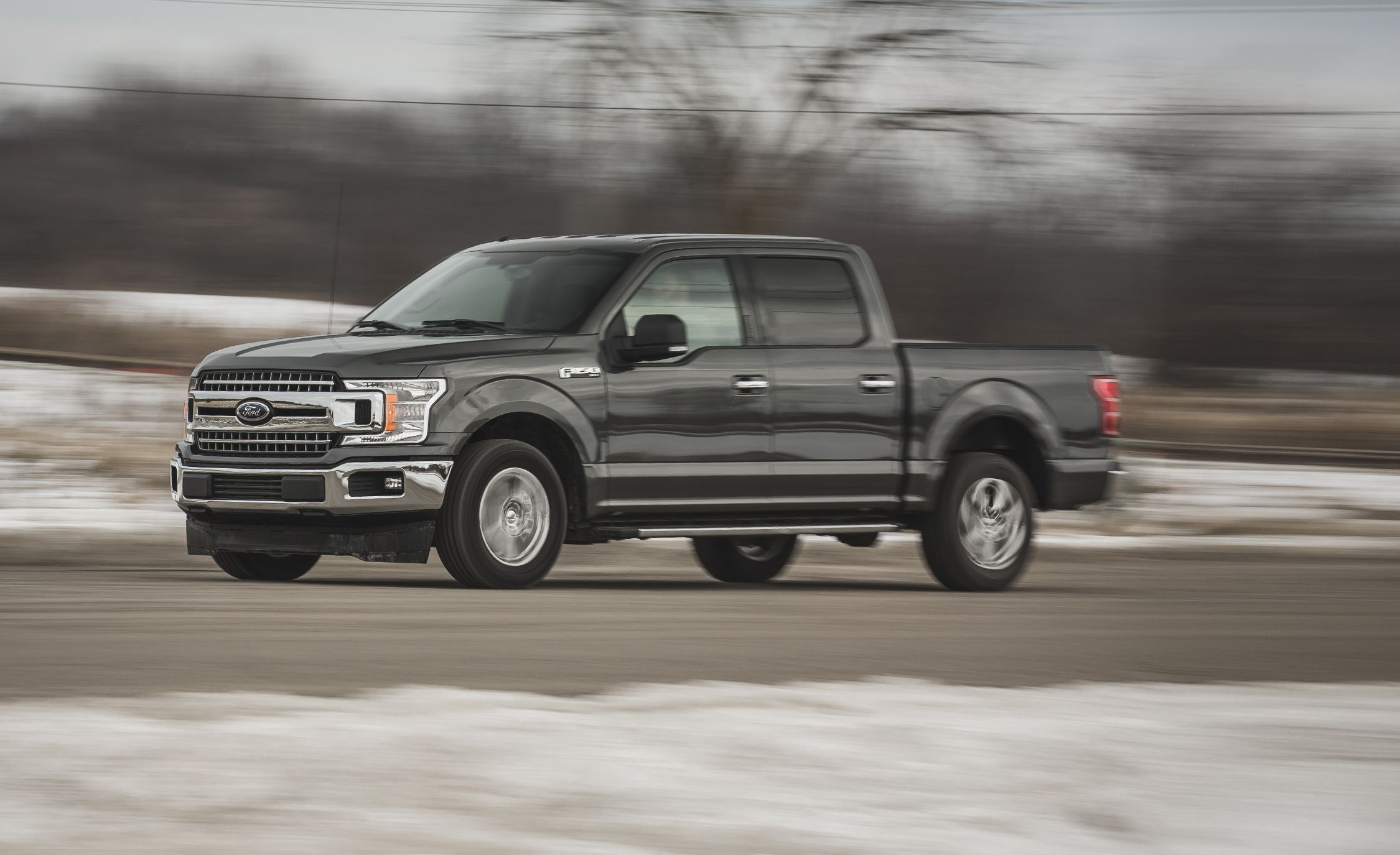 Ford F150 4x4 2018 Ford F 150 5 0l V 8 4x2 Supercrew Test Review Car And Driver