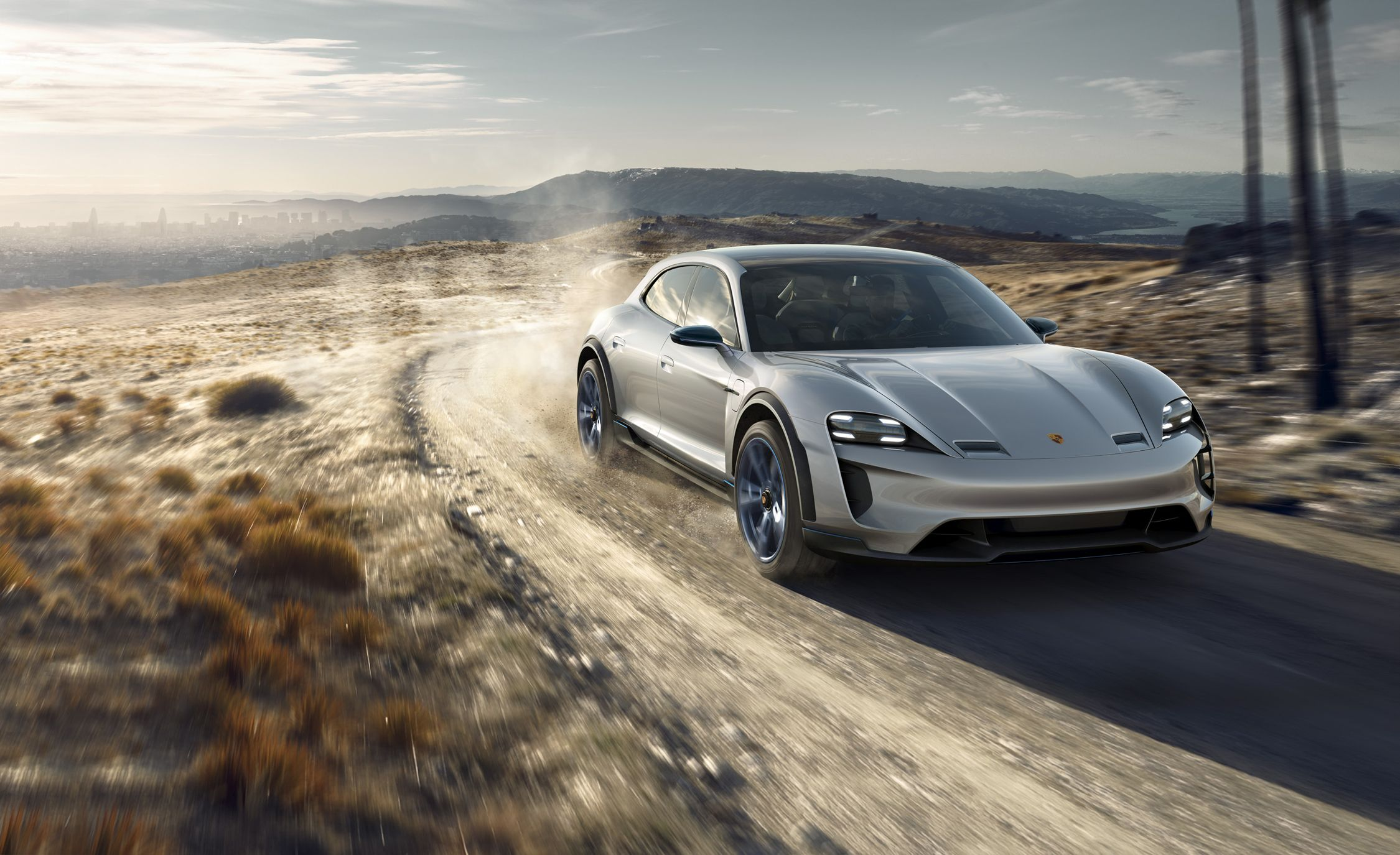 Bentley Car Logo Wallpapers Porsche Is Putting The Mission E Cross Turismo Concept