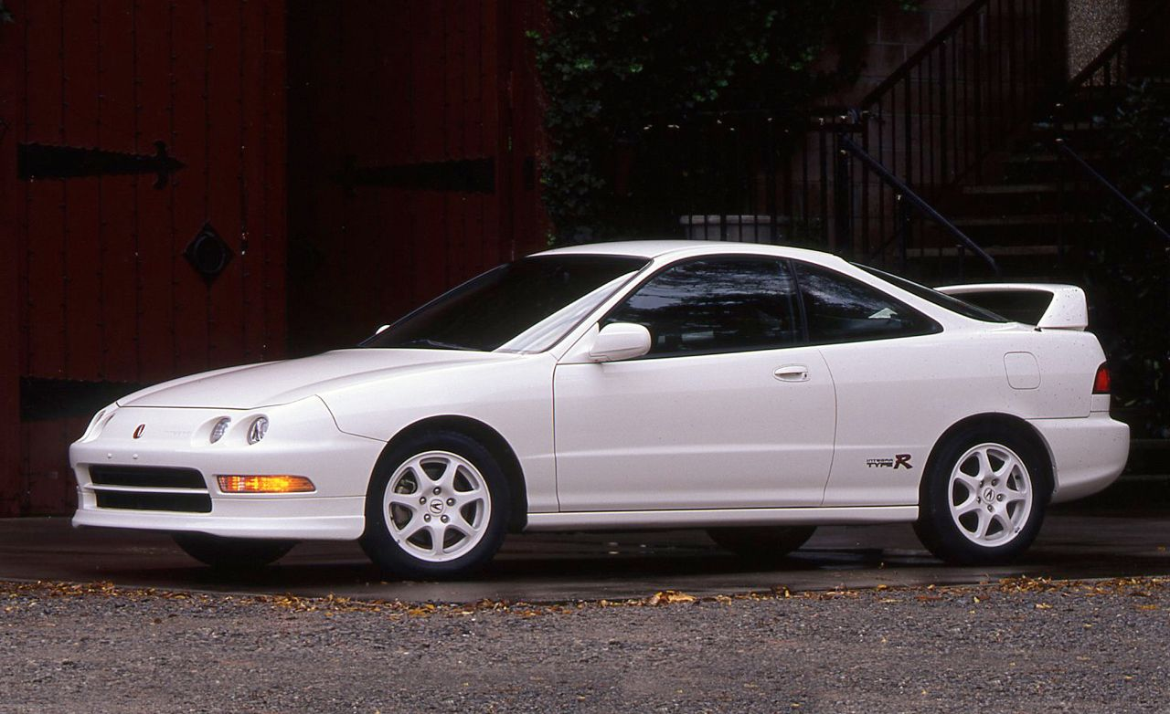 Car With Jdm Stickers Wallpaper 1997 Acura Integra Type R Archived Test Review Car And