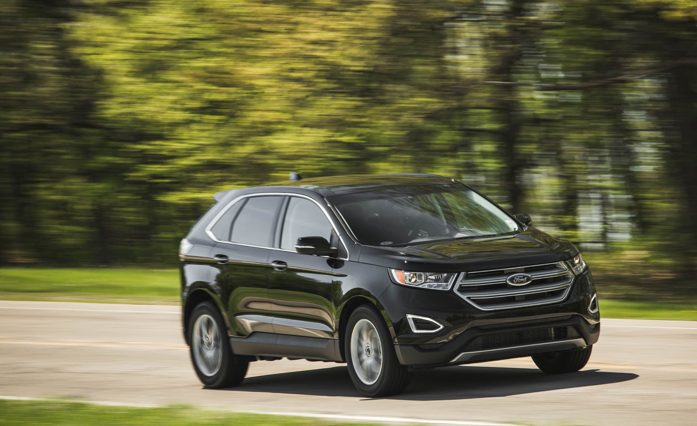 2017 Ford Edge   Performance and Driving Impressions Review   Car and Driver