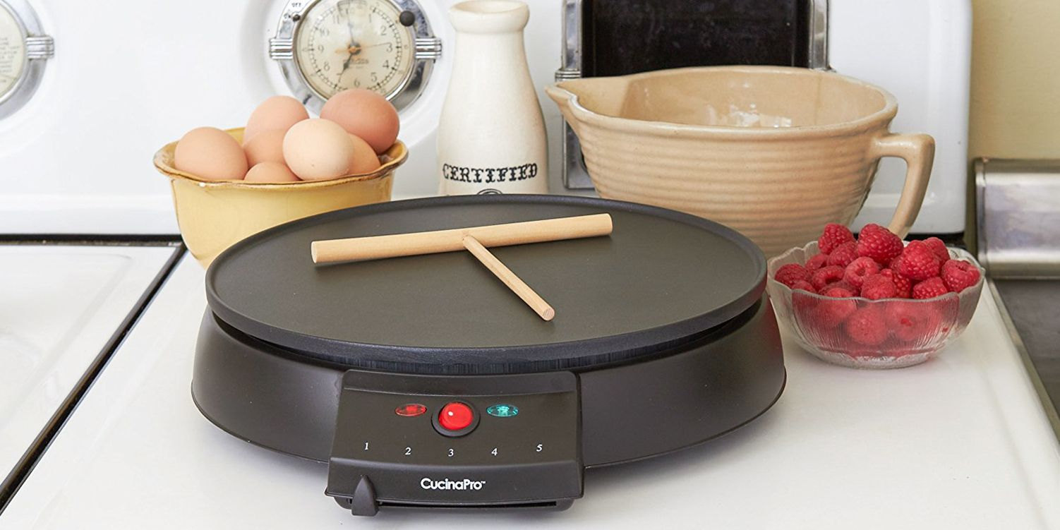 Amazon Cucinapro 9 Best Electric Crepe Makers In 2018 Reviews Of Griddles Crepe