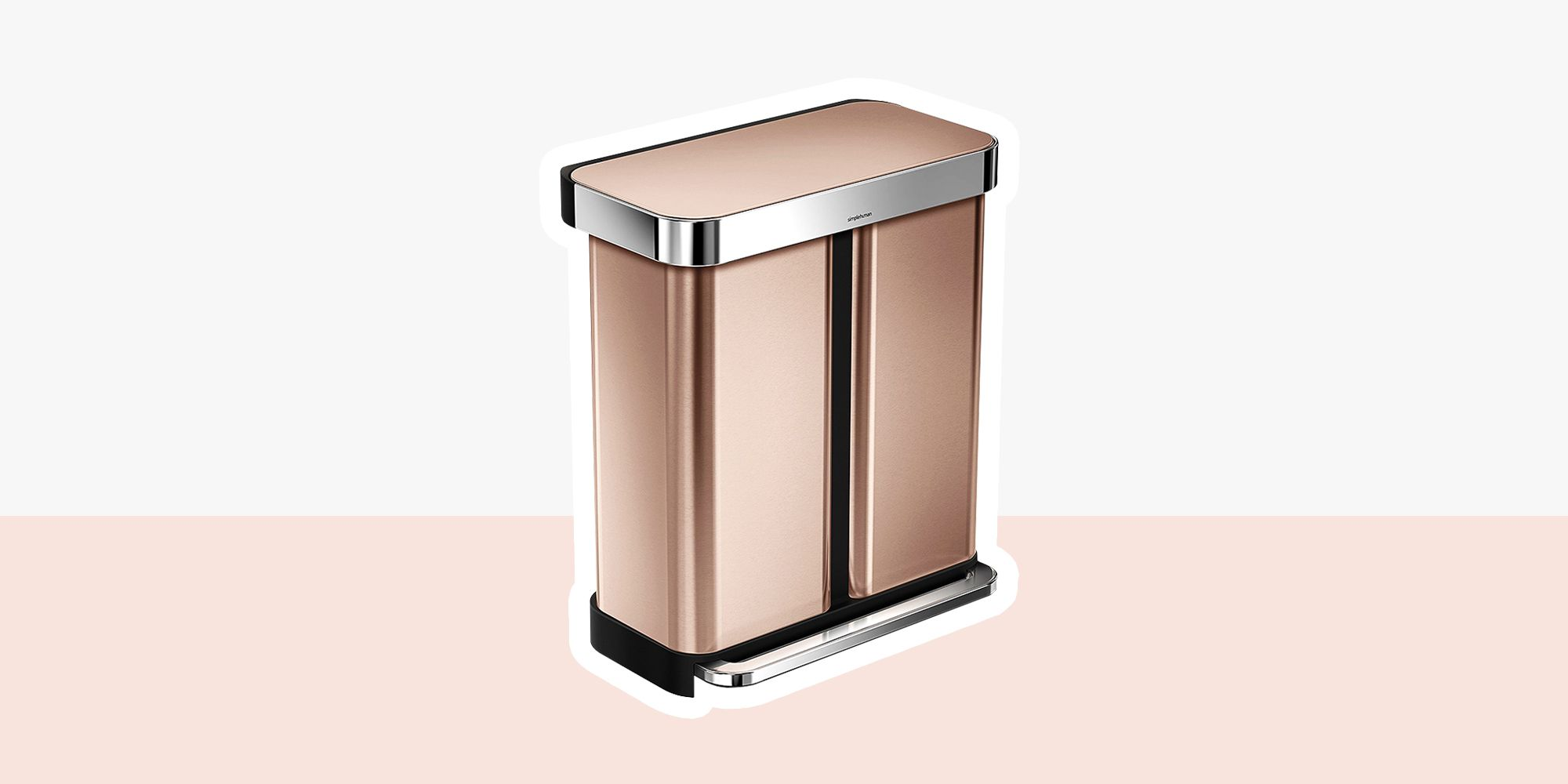 Copper Trash Can With Lid 13 Cheap Stainless Steel Trash Cans 2018 Best Stainless Garbage Cans
