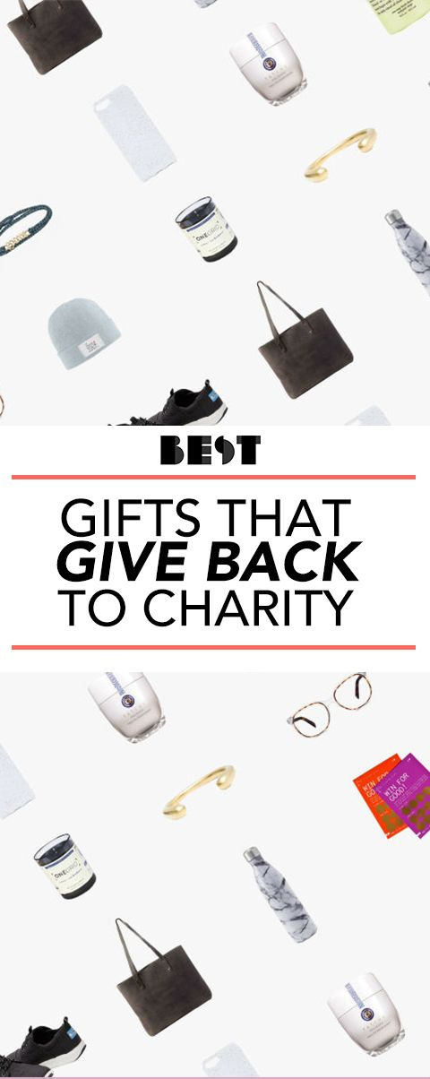 40 Gifts That Give Back to Charity - Great Charitable Gift Ideas for