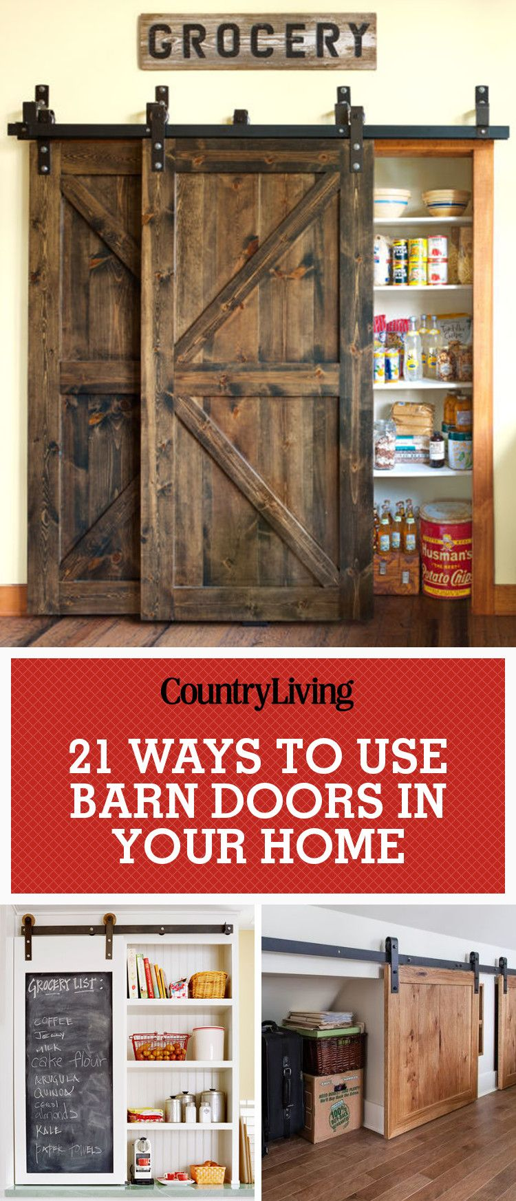 Barn Doors For Homes 20 Best Barn Door Ideas Ways To Use A Barn Door