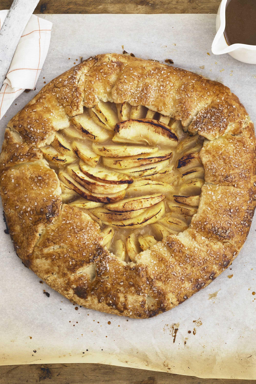 Fullsize Of Cinnamon Swirl Apple Pie