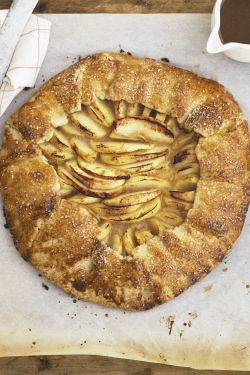 Small Of Cinnamon Swirl Apple Pie