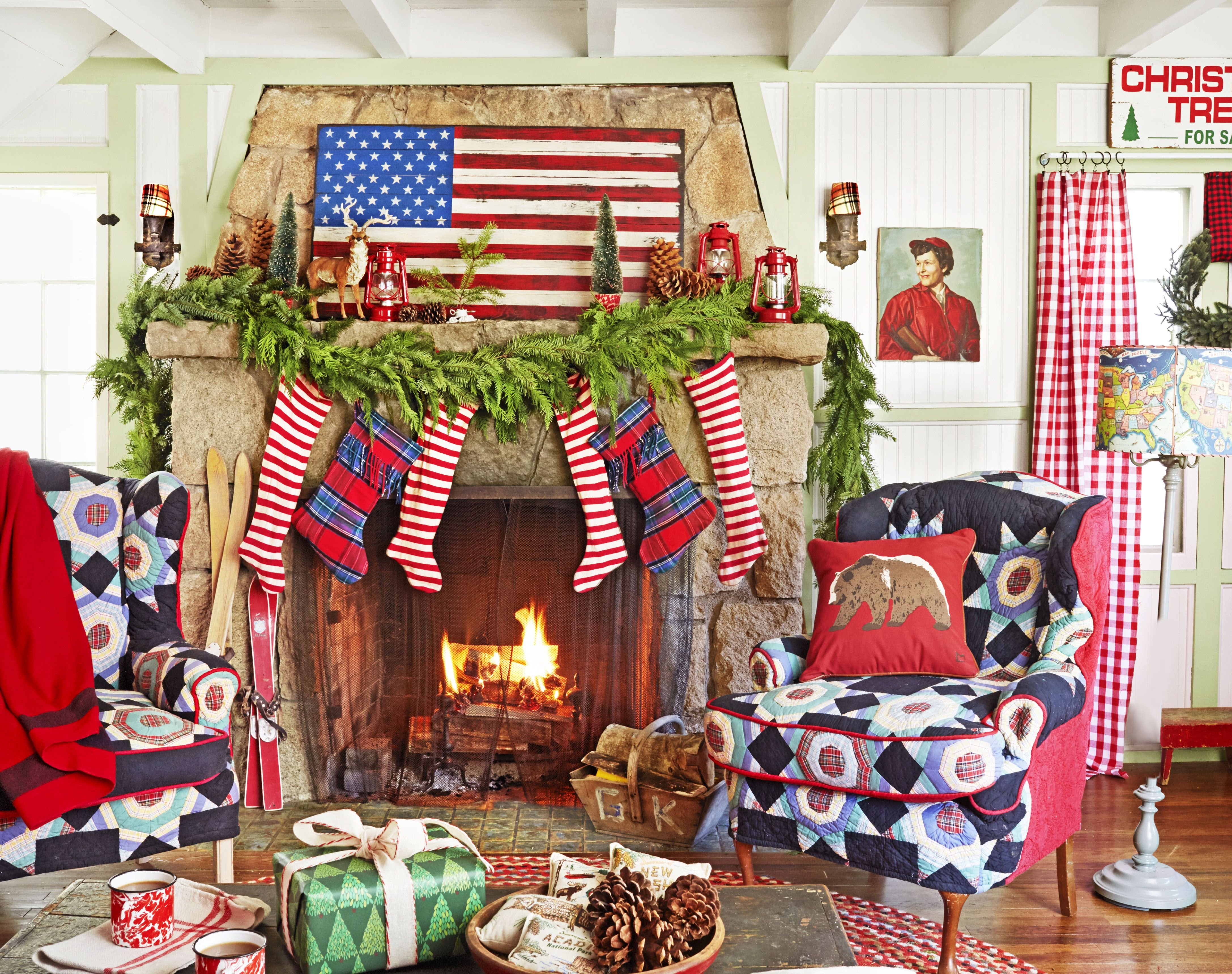 Best Place For Christmas Decorations 110 Country Christmas Decorations Holiday Decorating Ideas 2018