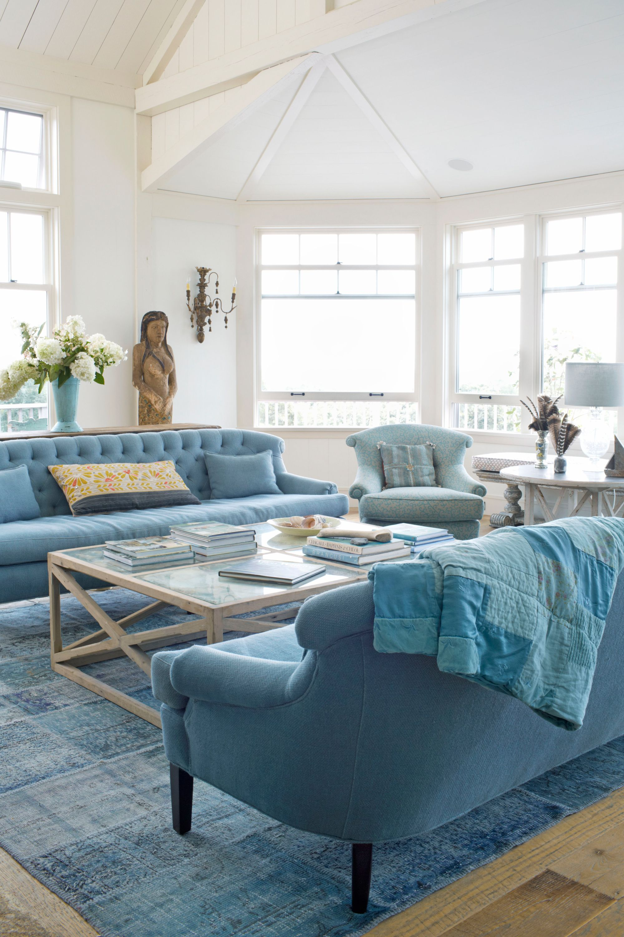 Sofa Throw Ideas 25 Best Blue Rooms Decorating Ideas For Blue Walls And Home Decor