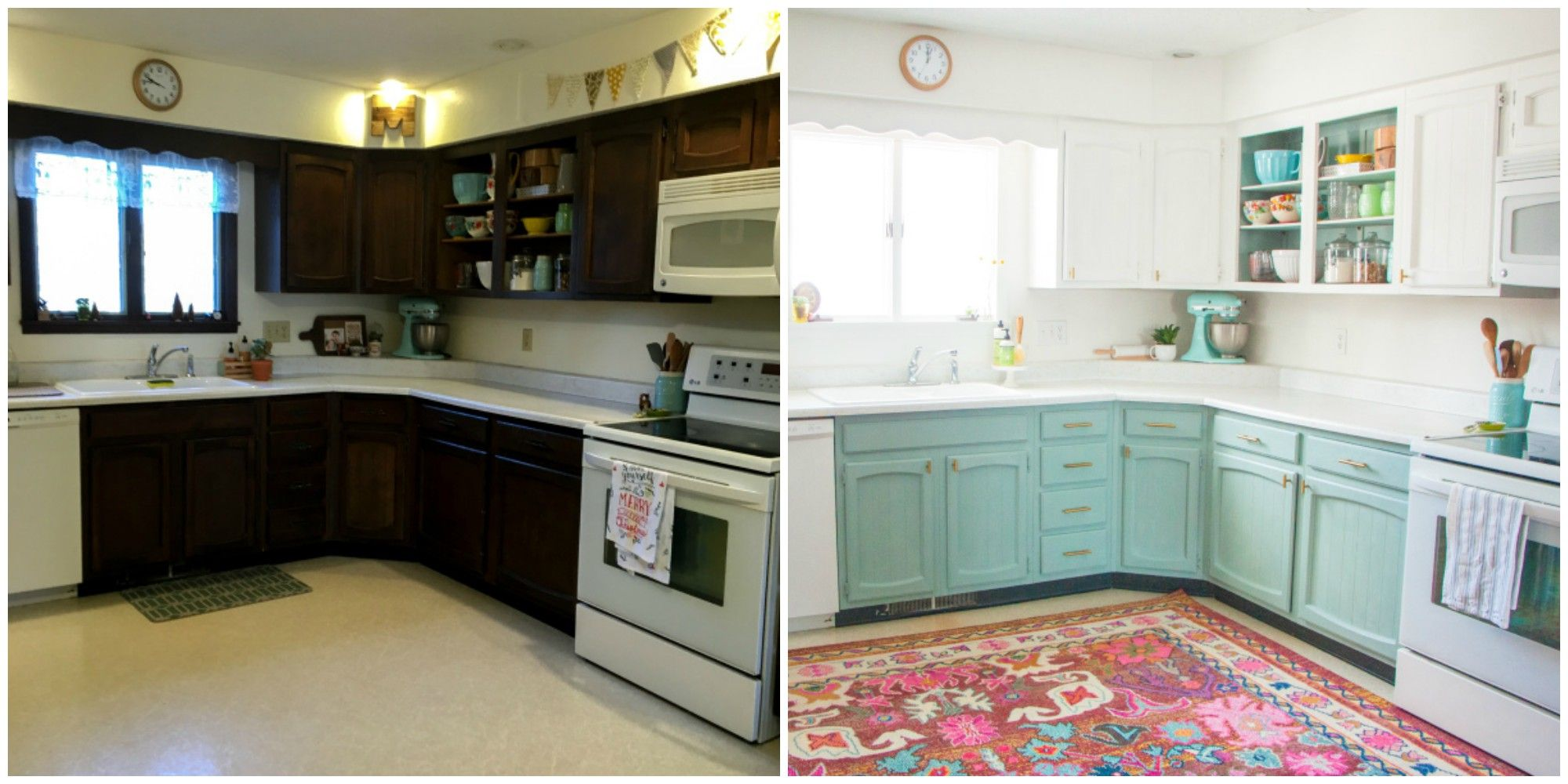 Kitchen Renovation This Bright And Cheery Kitchen Renovation Cost Just 250 Cheap