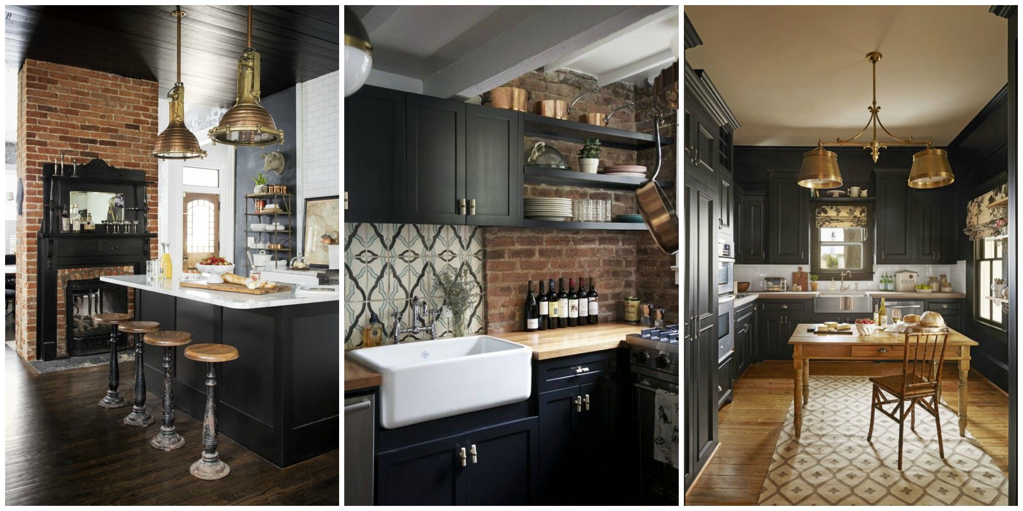 Black Design For Kitchen Black Kitchens Are The New White Kitchens Black Kitchen Cabinets