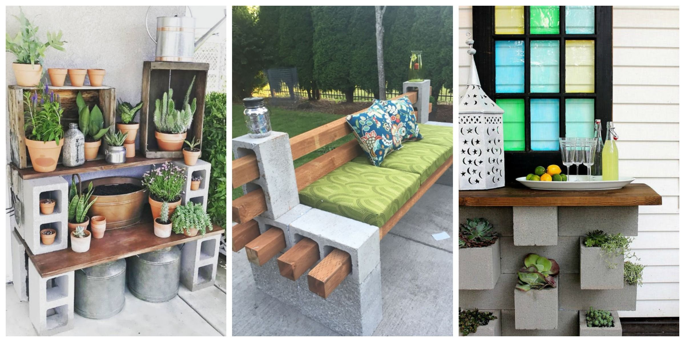 Planting Tables For Sale Genius Ways People Are Using Cinder Blocks In Their Backyards