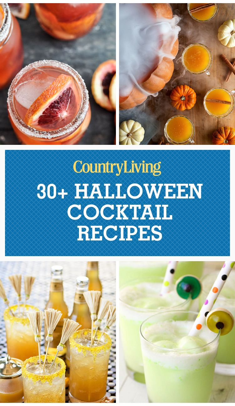 Easy Halloween Shots Recipes 34 Easy Halloween Cocktails Drinks Best Recipes For Alcoholic