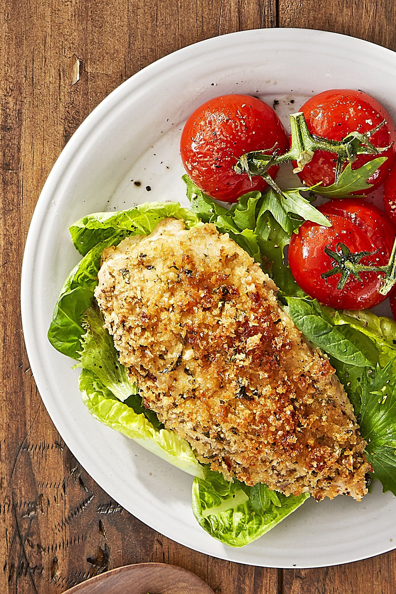 Best Roasted Parmesan Chicken And Tomatoes Recipe How To Make Roasted Parmesan Chicken And Tomatoes
