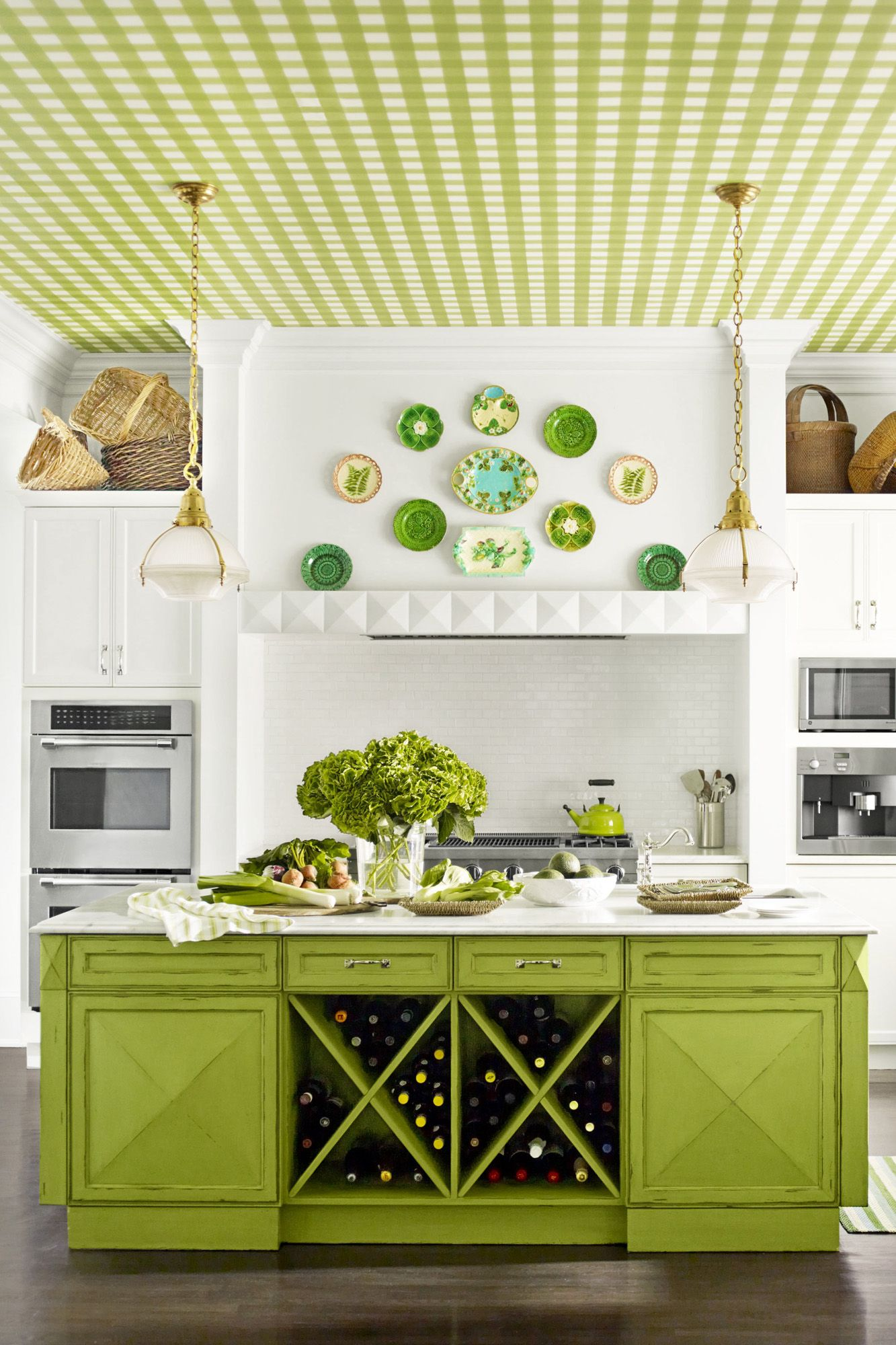 Mustard Color Paint For Kitchen Decorating With Green 43 Ideas For Green Rooms And Home Decor