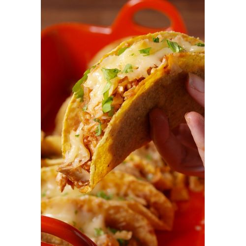 Medium Crop Of Fried Chicken Taco