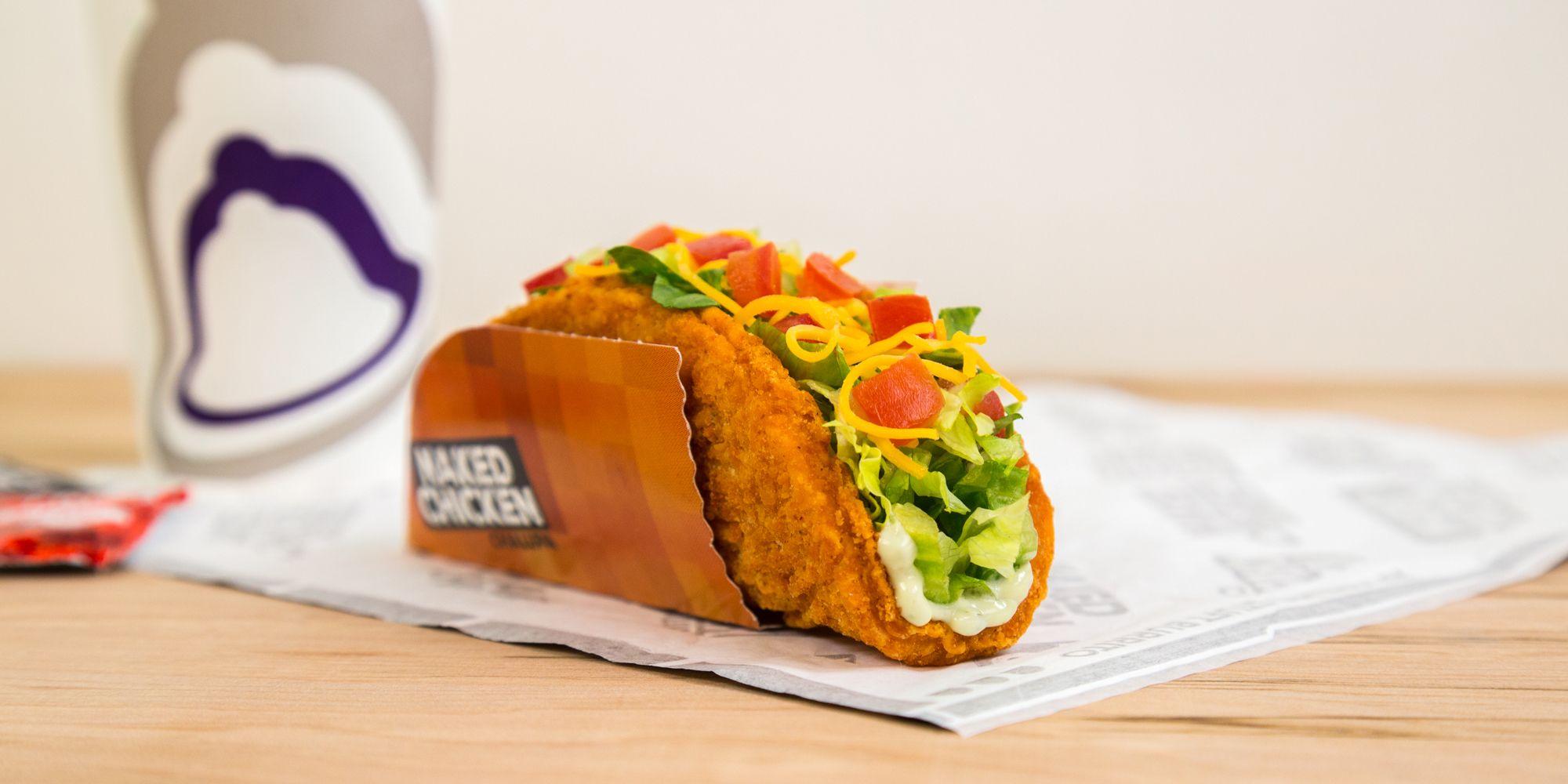 Fullsize Of Taco Bell Chalupa Box