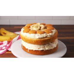 Small Crop Of Banana Cream Cake
