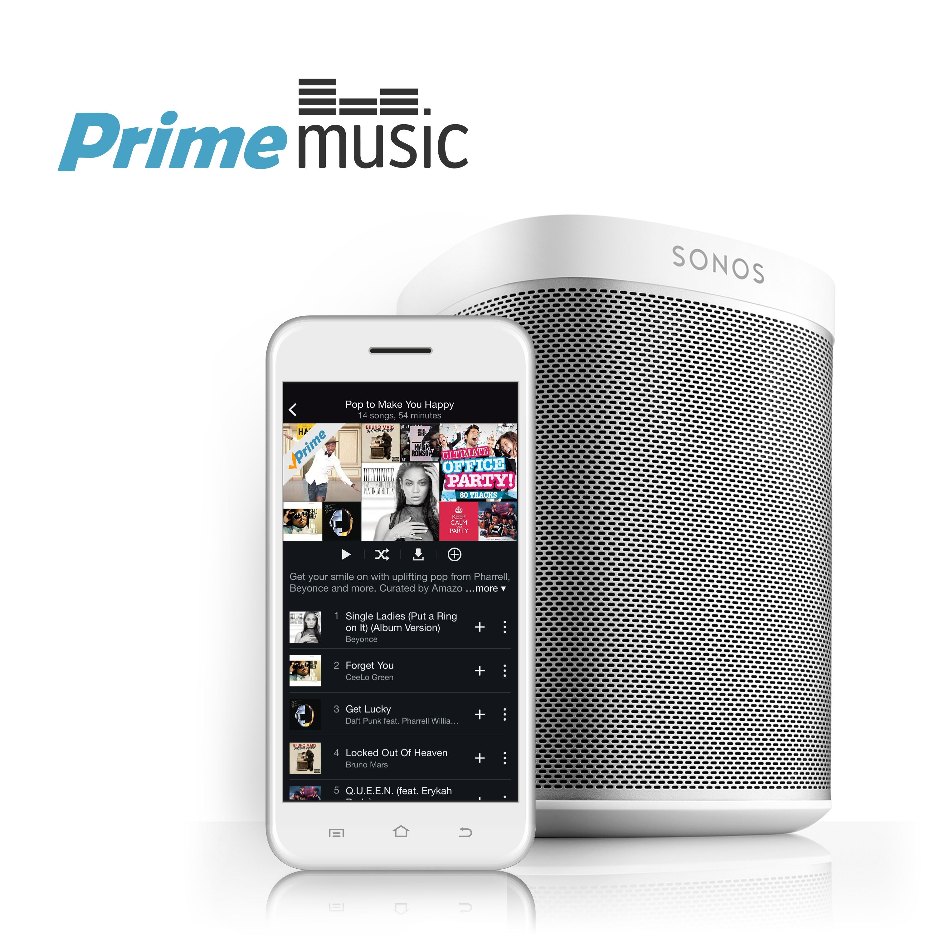 Amazon Music Sonos Amazon Prime Music Joins Spotify Apple Music And The Rest On Sonos
