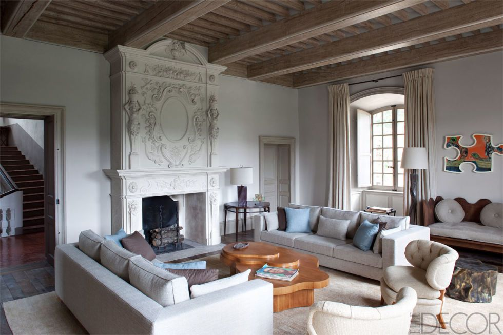 20 Of The Most Stylish Rooms In Paris u2013 French Style Homes - elle decor living rooms