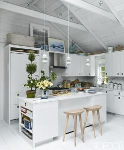 Small Of Gray And White Kitchen Decor