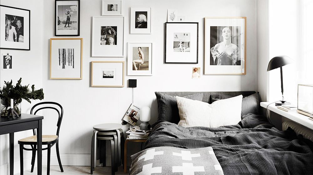 30 Best Black and White Decor Ideas - Black And White Design - black and white living room decor