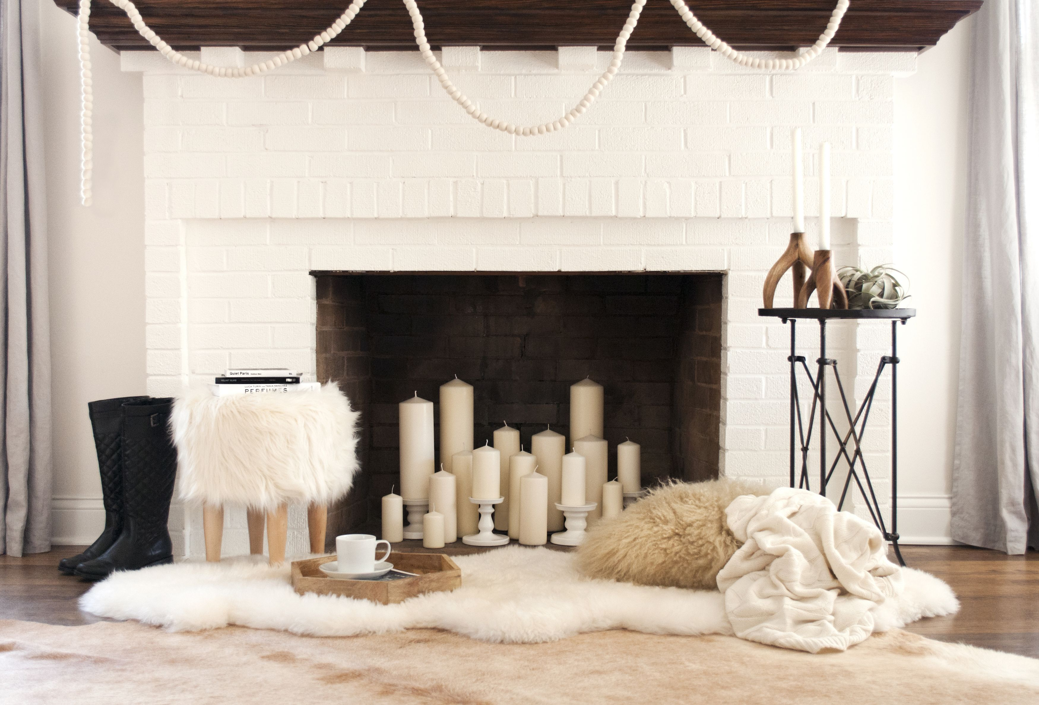 Decorations For Fireplaces 12 Decorating Ideas For Nonworking Fireplace Design Living Room