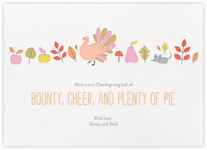 20 Best Thanksgiving Cards - Cute Happy Thanksgiving Greeting Cards