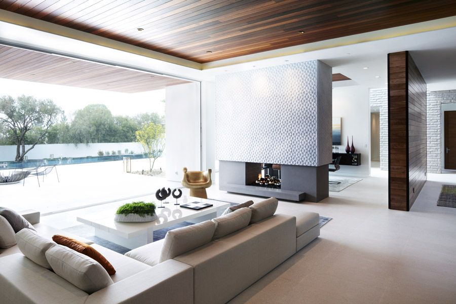 40 Modern Living Rooms for Holiday Entertaining - Party Ideas For - elle decor living rooms