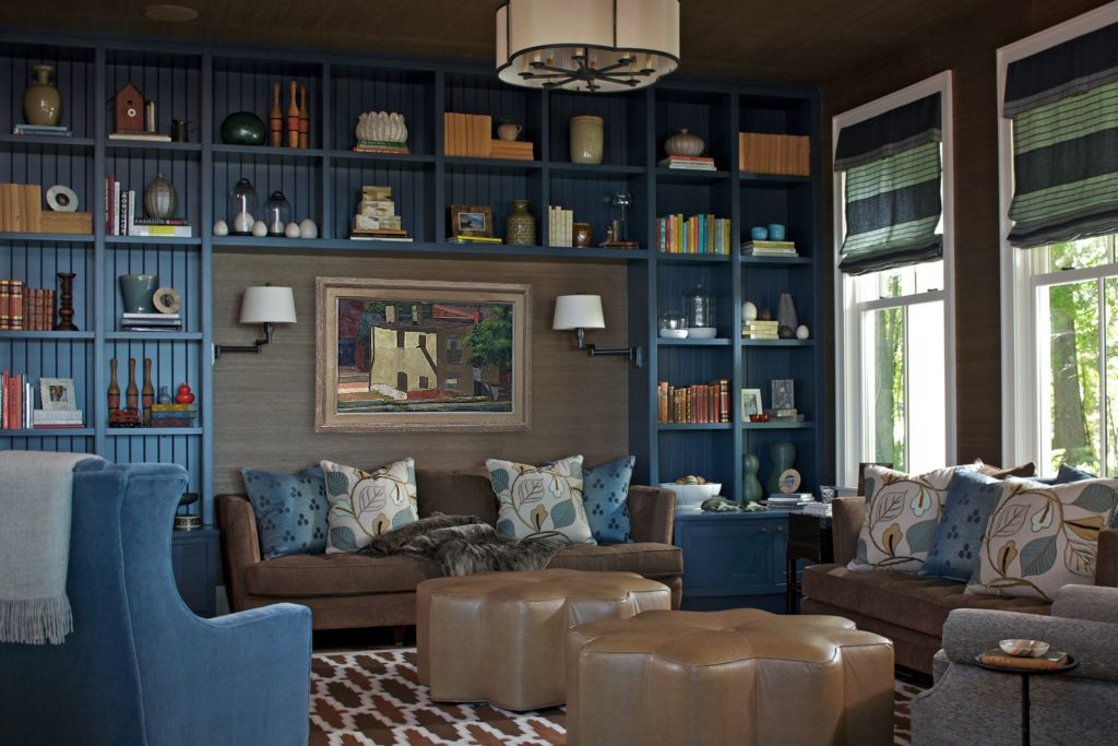 35 Best Home Library Ideas - Reading Nooks At Home - home library design