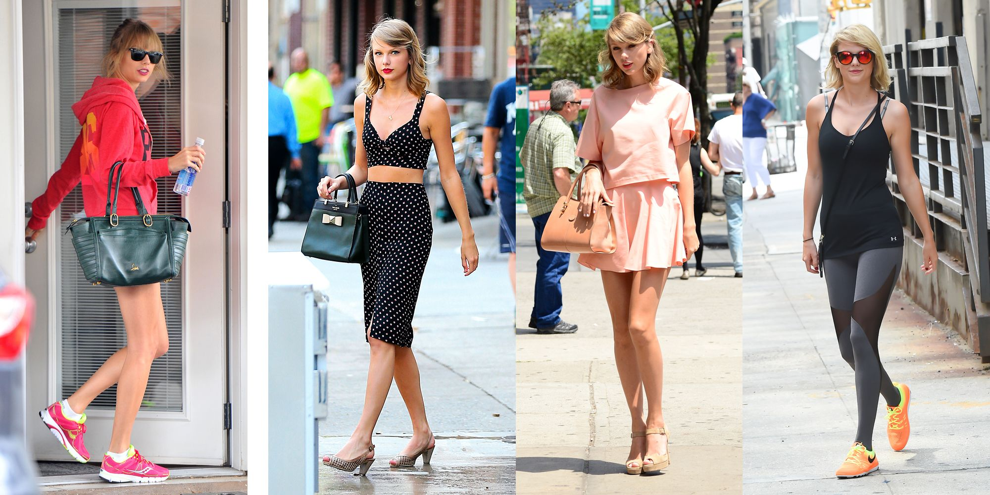 Tom Tailor Winter Love A Fashion Friend Taylor Swift S Gym Fashion Evolution Taylor Swift S Workout