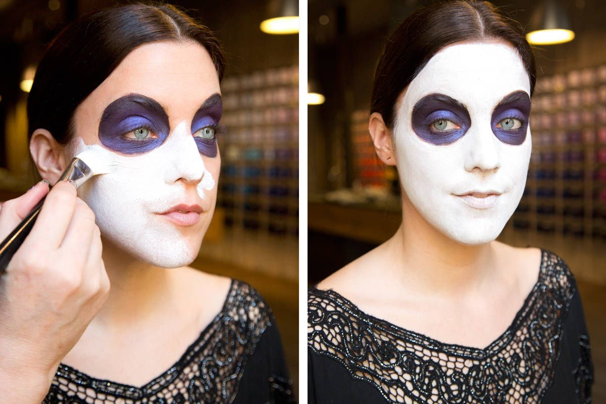 Halloween Make Up Anleitung Sugar Skull Makeup How To How To Paint A Sugar Skull Face