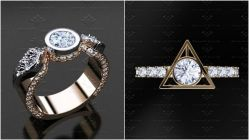Remarkable Engagement Rings That Will Add Magic To Your Wedding Day Engagement Rings That Will Add Magic To Your Harry Potter Engagement Rings Harry Potter Engagement Ring Box